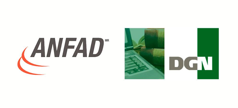 ANFAD y DGN firman convenio para fomentar la competencia legitima vigilando la normatividad