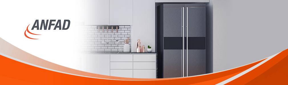 Industria ANFAD promueve refrigeradores domésticos de alta eficiencia.