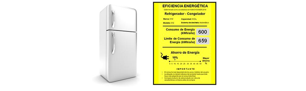 Se actualiza norma de eficiencia energética de Refrigeradores