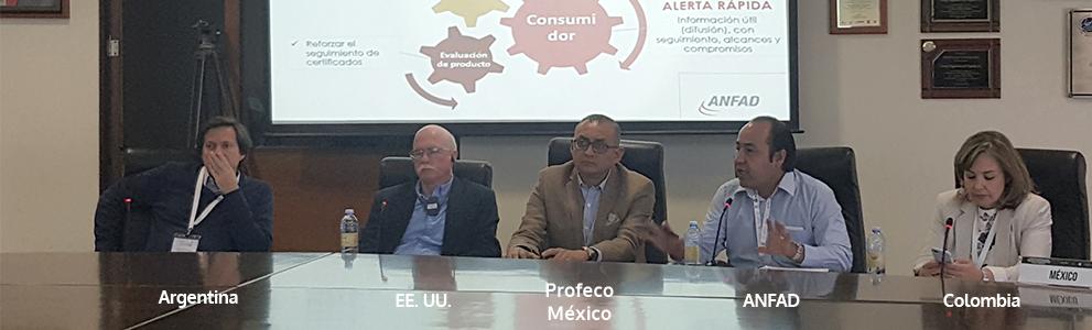 """ANFAD en el Taller """"Seguridad de productos de las Américas"""""""