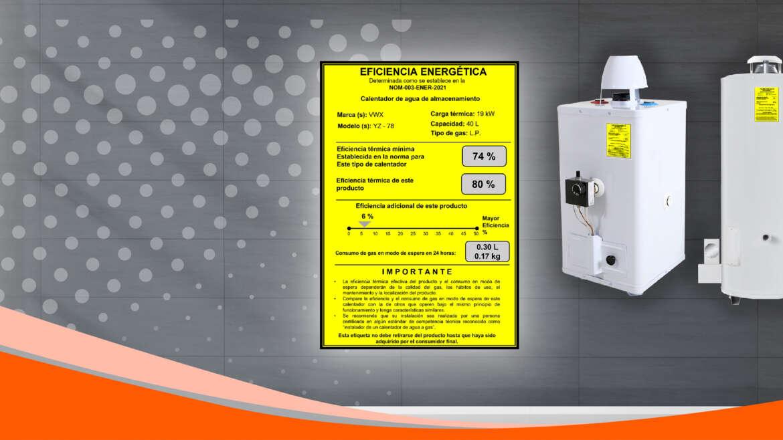 Se actualiza norma de eficiencia para calentadores de agua a gas